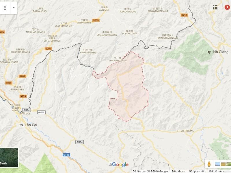 Huyện Xín Mần, nơi xảy ra vụ án mạng đặc biệt nghiêm trọng