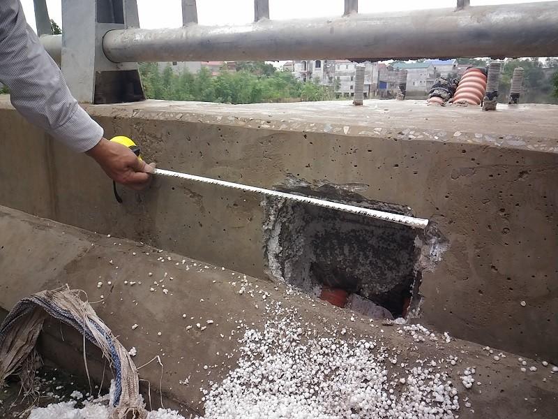 Thực hư cầu 65 tỉ đồng tại Hà Nội xây bằng 'bê tông cốt xốp' - ảnh 4