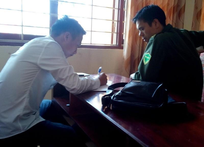 Hà Nội: Một phóng viên bị đánh chảy máu miệng - ảnh 2