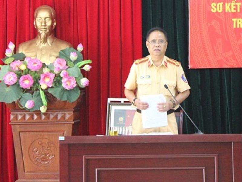 Theo Đại tá Đào Vịnh Thắng, nhiều cán bộ CSGT còn tình trạng đi muộn về sớm