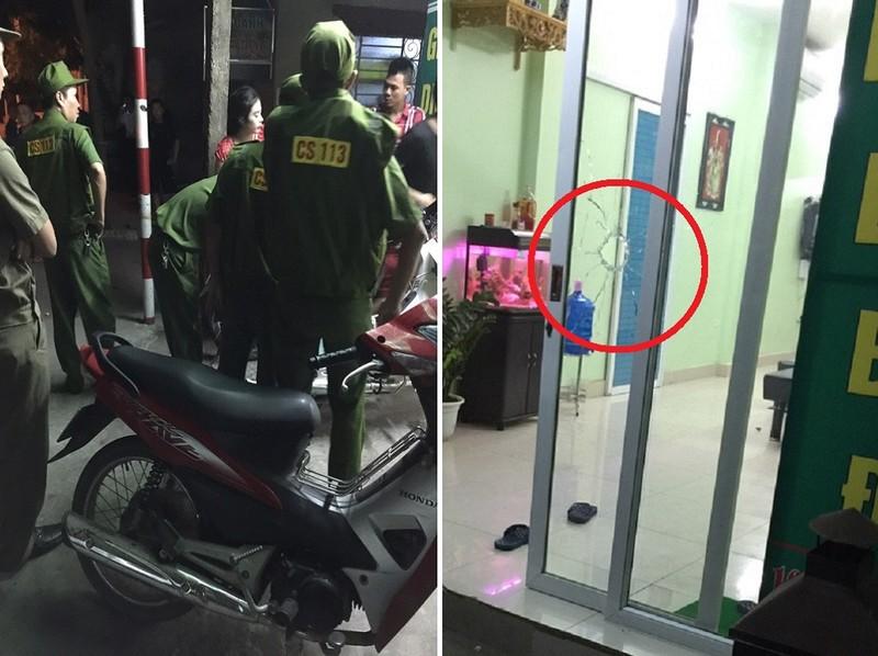 Hai nhóm thanh niên xô xát, nổ súng bắn vỡ cửa kính - ảnh 1