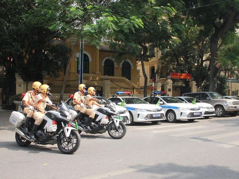 Một số tuyến đường sẽ bị cấm đối với các phương tiện thuộc diện hạn chế trong những ngày diễn ra hội nghị