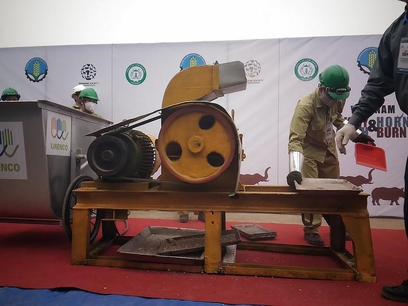Lần đầu tiên Việt Nam tiêu hủy hơn 2.000 kg ngà voi - ảnh 7