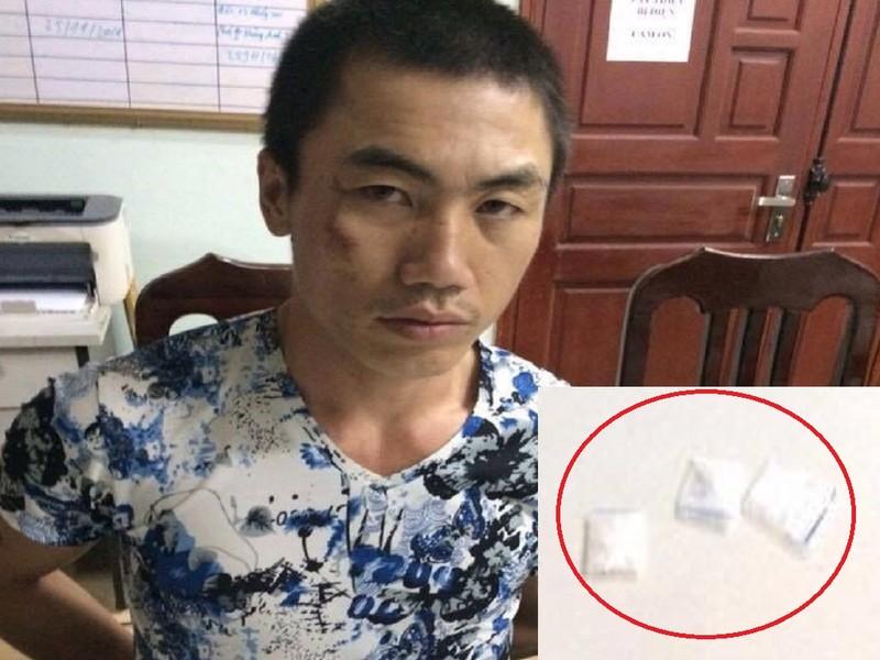 Cảnh sát cơ động quật ngã đối tượng mang ma túy - ảnh 1