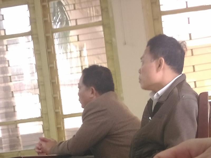 Hai cán bộ làm oan ông Chấn nói gì trước khi tuyên án? - ảnh 1