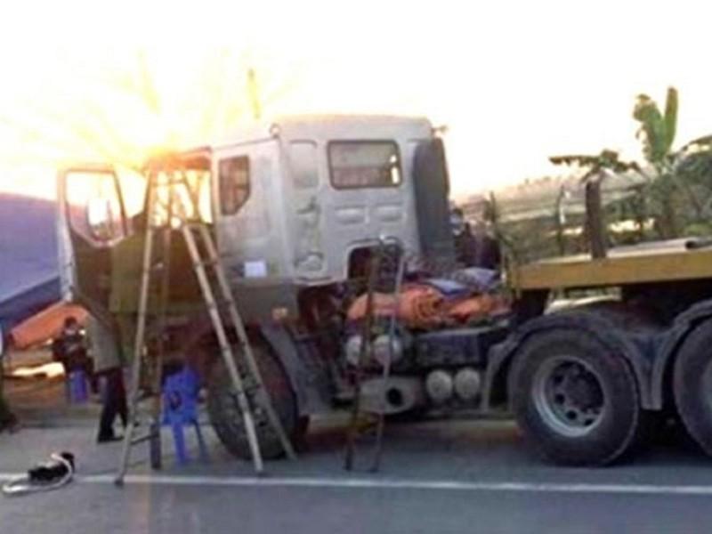 Giết tài xế cướp 34 tấn thép trên xe đầu kéo - ảnh 1