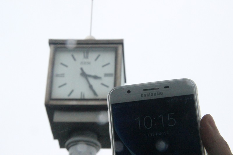 Đồng hồ 'khủng' kỷ niệm 1.000 năm Thăng Long bị hỏng - ảnh 2