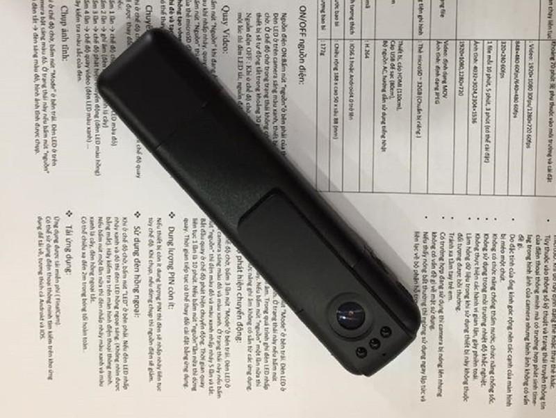 Cảnh sát 141 Hà Nội dùng camera siêu nhỏ - ảnh 1