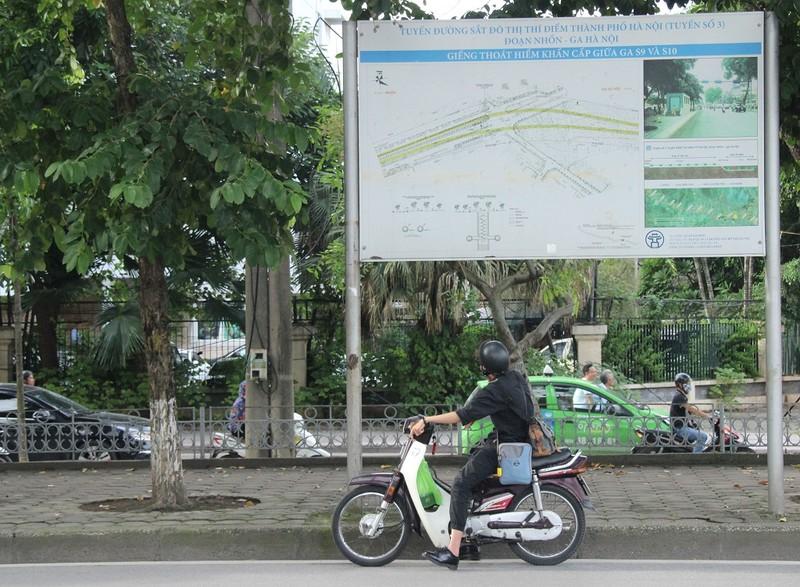 """130 cây xanh chuẩn bị """"nhường"""" chỗ cho đường sắt đô thị - ảnh 2"""