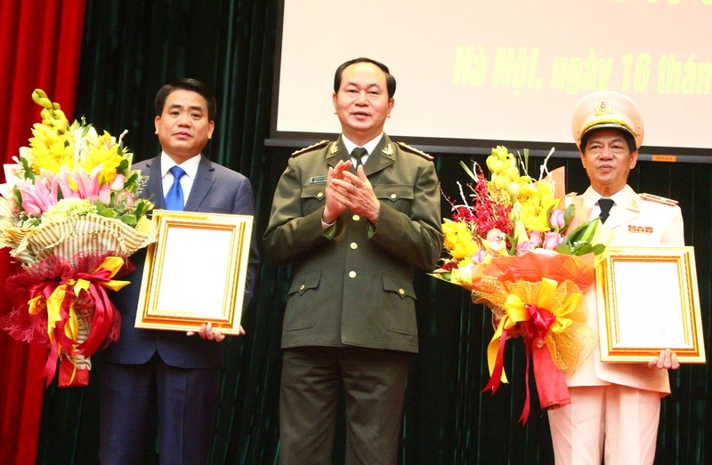 Tân Giám đốc Công an Hà Nội hứa gì trong ngày nhậm chức? - ảnh 1