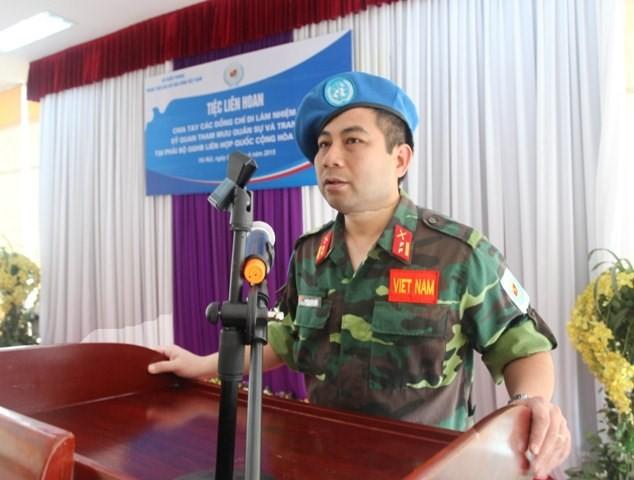Việt Nam đưa thêm sĩ quan quân đội tới châu Phi - ảnh 3