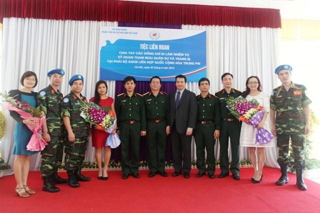 Việt Nam đưa thêm sĩ quan quân đội tới châu Phi - ảnh 4