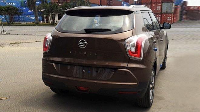 Xe SUV cỡ nhỏ 'cơ bắp' Ssangyong Tivoli về Việt Nam - ảnh 2