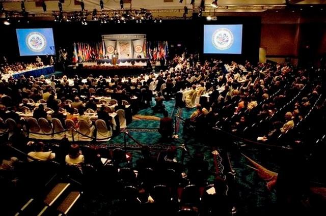 Phái đoàn Cuba bất bình rời bỏ cuộc họp bên lề hội nghị OAS  - ảnh 1