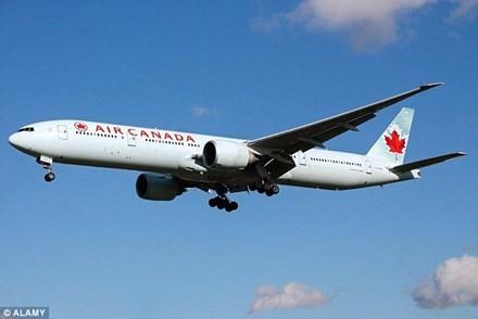 Một máy bay của Air Canada.