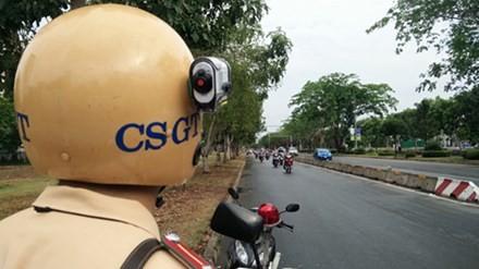 CSGT quận 7 được trang bị