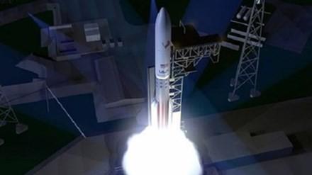 """ULA công bố đồ hoạ phóng thử tên lửa """"Vulcain""""."""