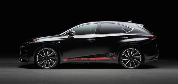 Lóa mắt với Lexus NX độ phong cách VIP của Nhật - ảnh 9