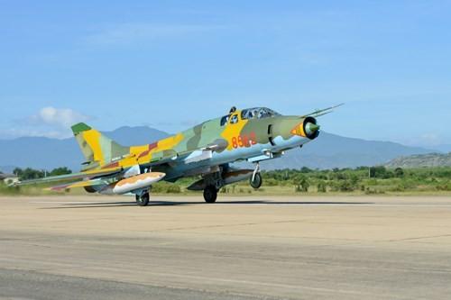 Hình ảnh bay huấn luyện Su-22 tại Trung đoàn không quân 937 - ảnh 8