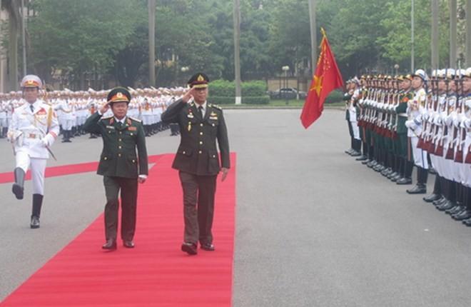 Tư lệnh lực lượng Quốc phòng Thái Lan thăm chính thức Việt Nam - ảnh 1