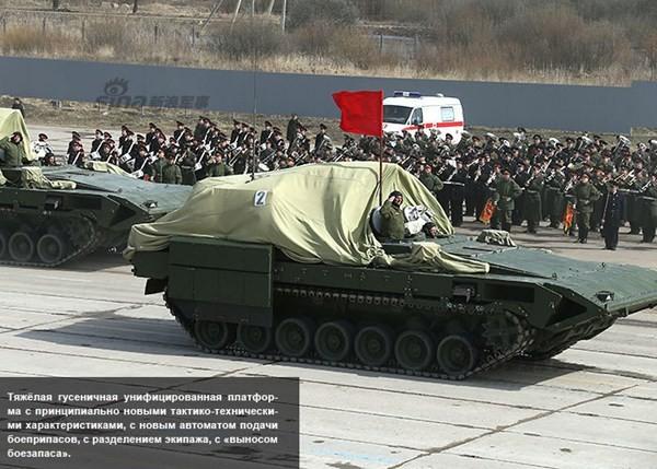 Điểm danh dàn vũ khí Nga ở lễ duyệt binh Ngày Chiến thắng - ảnh 12