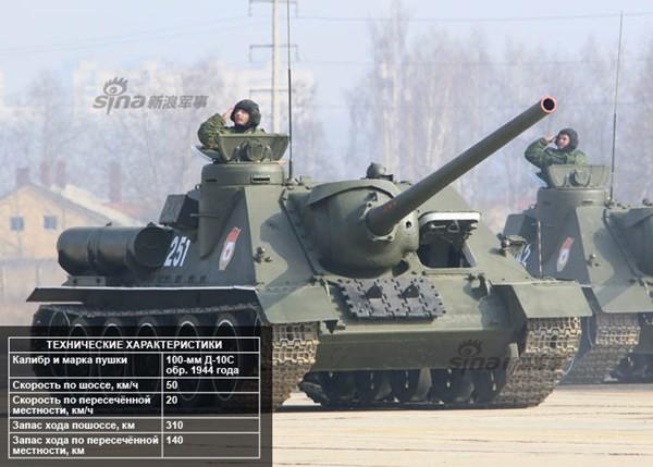Điểm danh dàn vũ khí Nga ở lễ duyệt binh Ngày Chiến thắng - ảnh 4