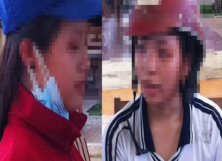 Nữ sinh gọi hội vác mã tấu xử nhau trước cổng trường - ảnh 2