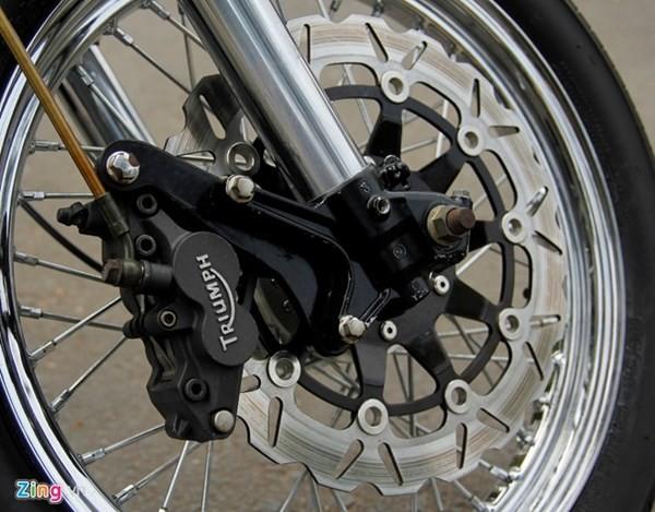 Sửng sốt với môtô tự chế 'cực độc' của thợ xe Sài Gòn - ảnh 10