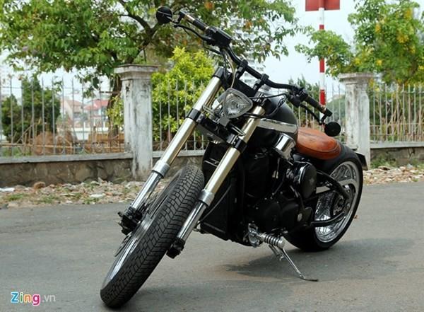 Sửng sốt với môtô tự chế 'cực độc' của thợ xe Sài Gòn - ảnh 1