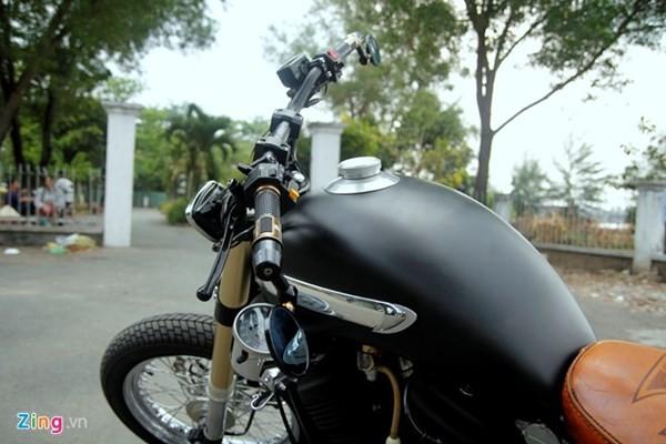 Sửng sốt với môtô tự chế 'cực độc' của thợ xe Sài Gòn - ảnh 4