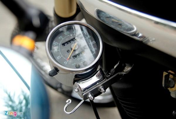 Sửng sốt với môtô tự chế 'cực độc' của thợ xe Sài Gòn - ảnh 8
