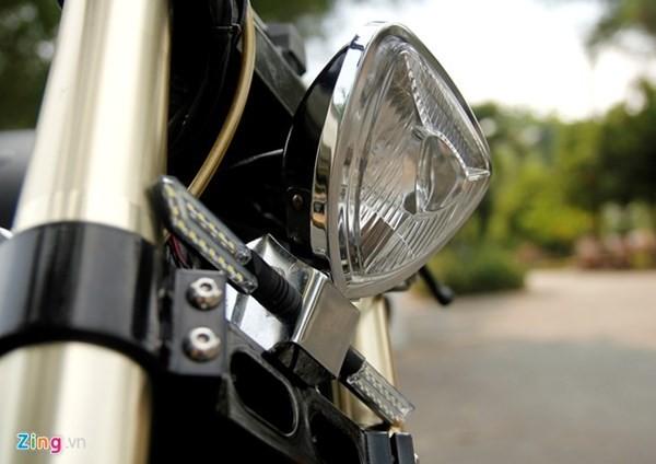 Sửng sốt với môtô tự chế 'cực độc' của thợ xe Sài Gòn - ảnh 9