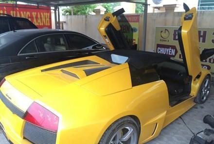 Siêu xe Lamborghini bị thu giữ