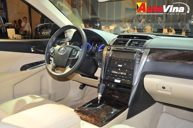 Ngắm chi tiết Toyota Camry 2015 vừa ra mắt - ảnh 10