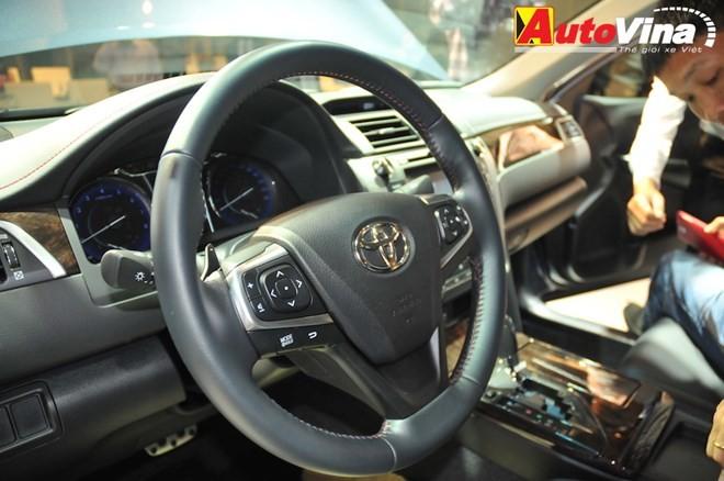 Ngắm chi tiết Toyota Camry 2015 vừa ra mắt - ảnh 12