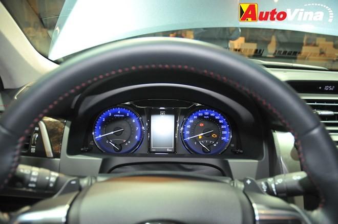 Ngắm chi tiết Toyota Camry 2015 vừa ra mắt - ảnh 14