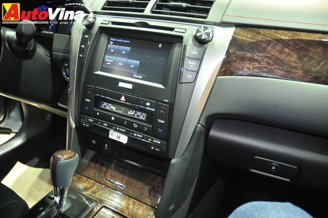 Ngắm chi tiết Toyota Camry 2015 vừa ra mắt - ảnh 18
