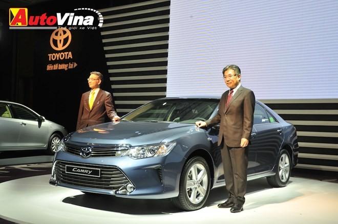 Ngắm chi tiết Toyota Camry 2015 vừa ra mắt - ảnh 1