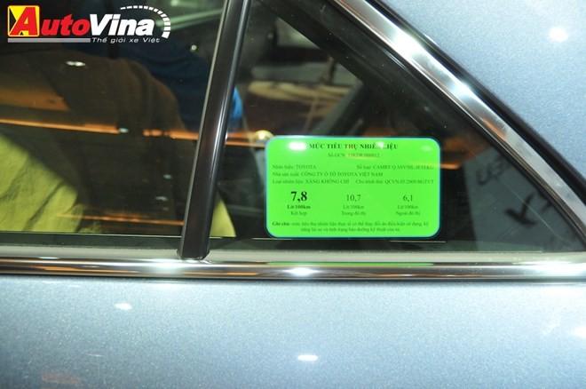 Ngắm chi tiết Toyota Camry 2015 vừa ra mắt - ảnh 22