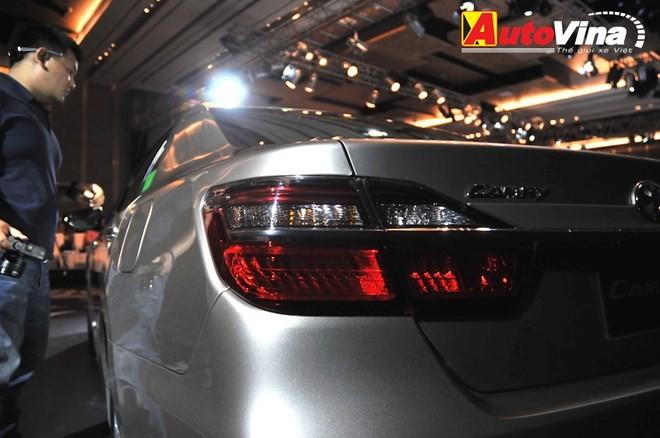Ngắm chi tiết Toyota Camry 2015 vừa ra mắt - ảnh 6