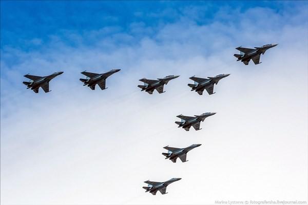 Điểm danh dàn chiến đấu cơ Nga duyệt binh Ngày Chiến thắng - ảnh 14