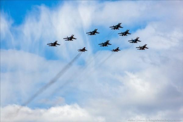 Điểm danh dàn chiến đấu cơ Nga duyệt binh Ngày Chiến thắng - ảnh 18