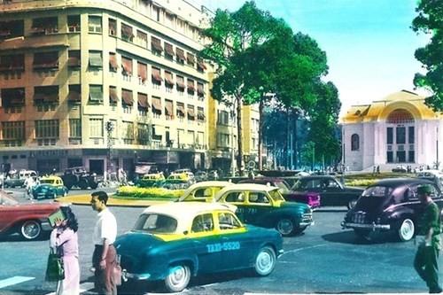 Hình ảnh xe cộ trên đường phố Sài Gòn trước 30/4/1975