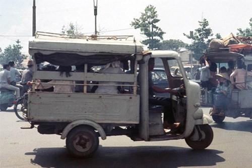 Hình ảnh xe cộ trên đường phố Sài Gòn trước 30/4/1975 - ảnh 22