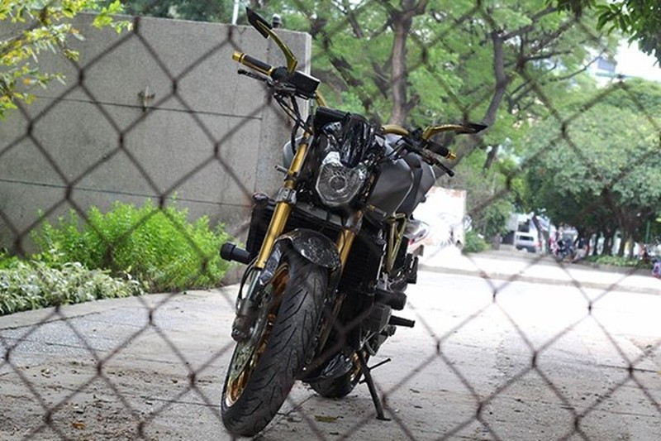Tận thấy Honda Hornet 600 mạ vàng 24k ở Việt Nam - ảnh 13