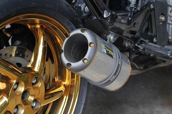 Tận thấy Honda Hornet 600 mạ vàng 24k ở Việt Nam - ảnh 5
