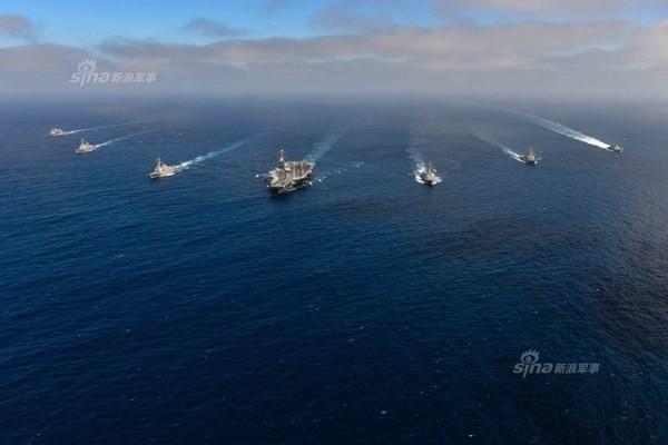 Hải quân Mỹ dàn trận trên Thái Bình Dương - ảnh 2