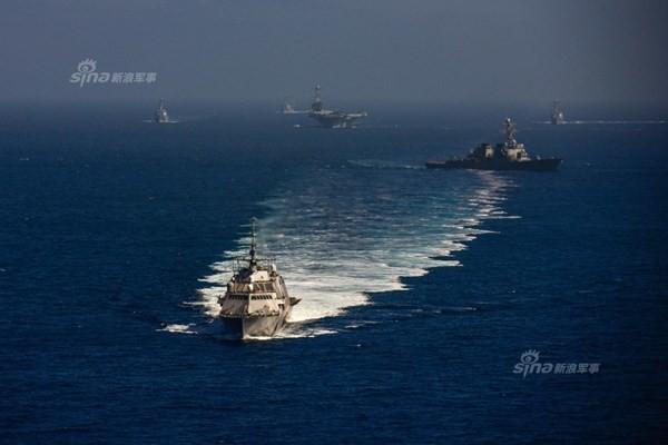 Hải quân Mỹ dàn trận trên Thái Bình Dương - ảnh 3