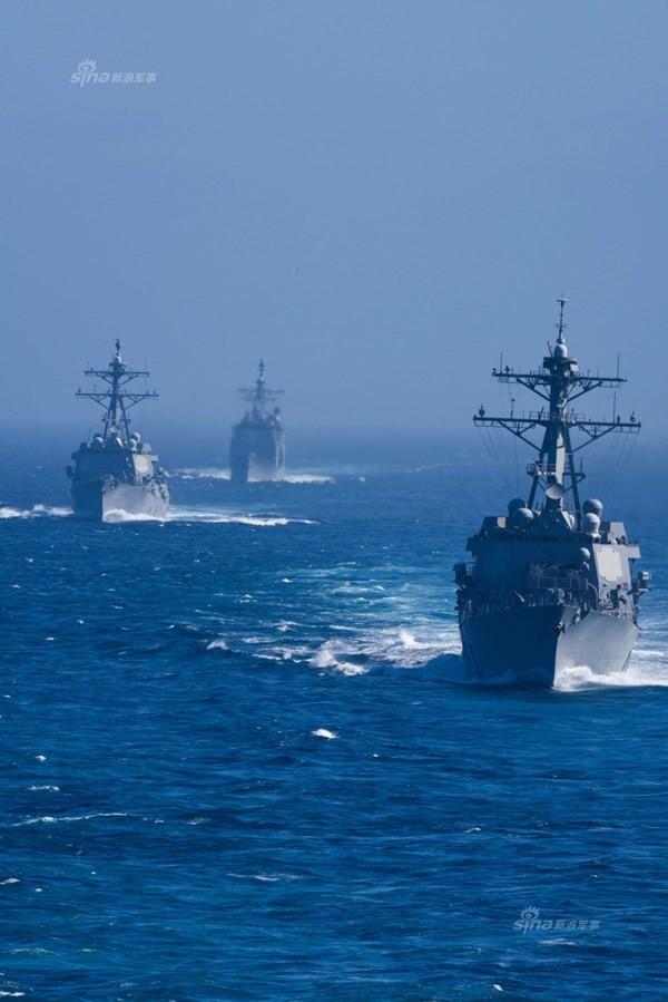 Hải quân Mỹ dàn trận trên Thái Bình Dương - ảnh 4