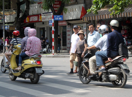 Quy tắc nhường đường khi tham gia giao thông 1